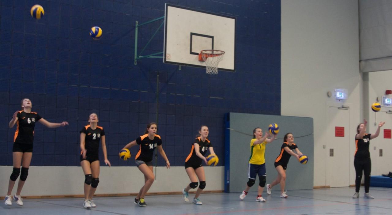 Gewinnen die Kreisrunde in München, die U 18 Mädels aus Herrsching