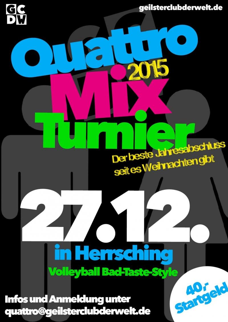Quattro Mix Turnier 2015
