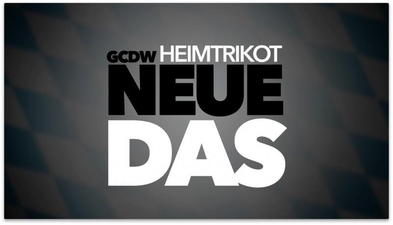 Neues GCDW Heimtrikot