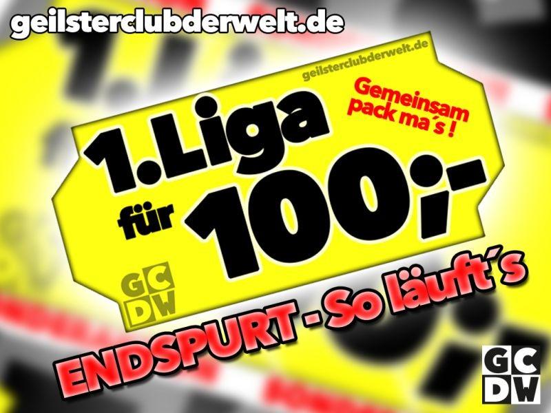 SPENDENAKTION - Erste Liga für 100 Euro - Auf geht´s!